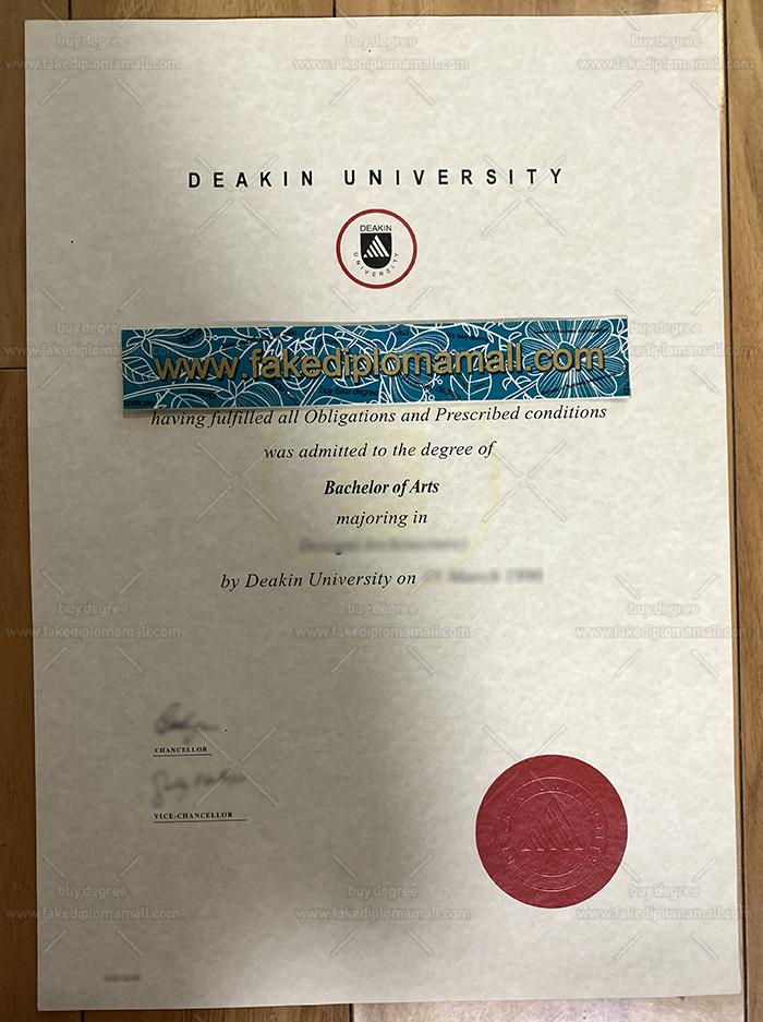 Deakin University Fake Diploma