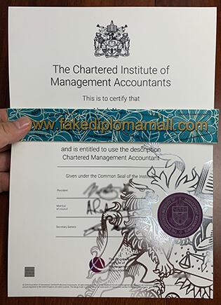 Buy A Fake CIMA Certificate From London