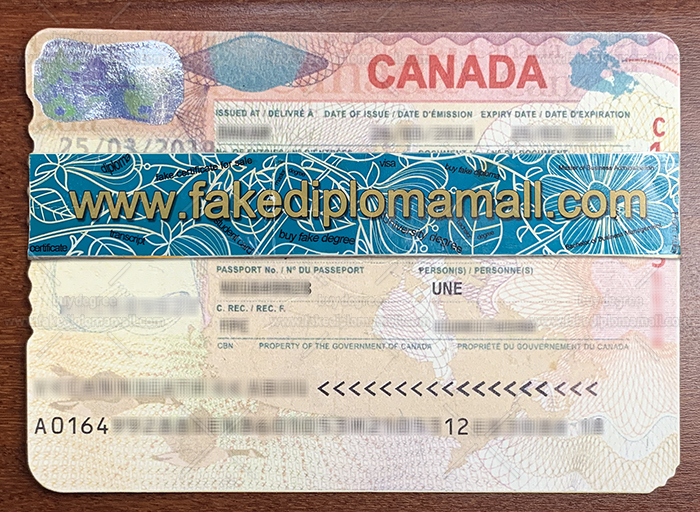 Buy Canadian Fake Passport Visa For Work Best Site To Get Fake