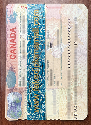 Buy Canadian Fake Passport/Visa For Work