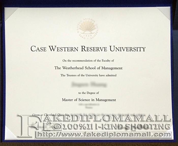 Case Western Reserve University Fake Diploma