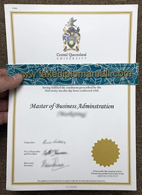 Where Can I Buy The Central Queensland University Fake Diploma?