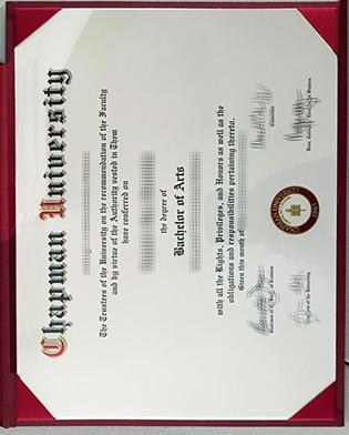 Fake Chapman University Diploma How To Buy It Online?