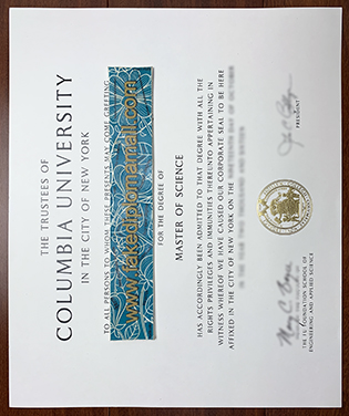 Fake Columbia University Diploma, Buy Columbia MSc Degree In The City of New York