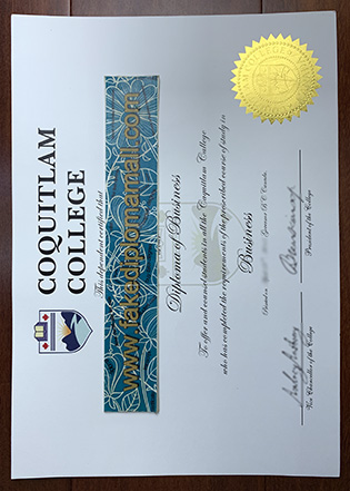 Where To Buy Coquitlam College Diploma of Business Sample