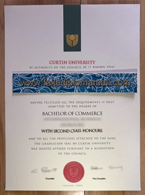 Where to Buy Curtin University Fake Diploma Certificate?
