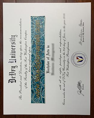 Buy Fake DeVry University Degree Certificate – US Fake Diplomas