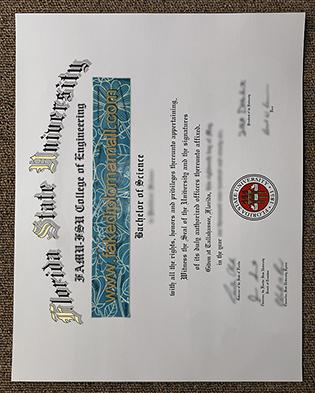 How Long To Get A Fake Florida State University (FSU) Diploma?