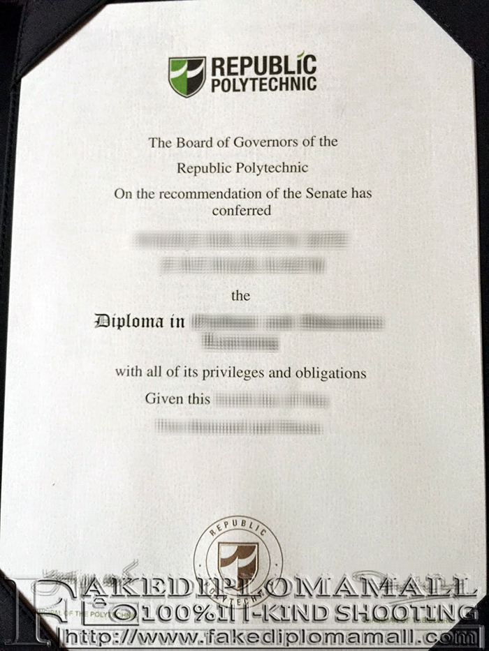 Fake Republic Polytechnic Diploma
