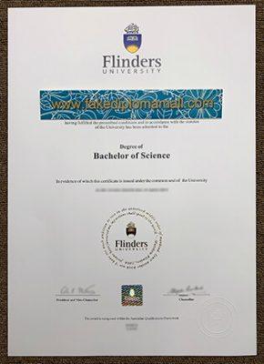 Flinders University Fake Diploma Selling Online