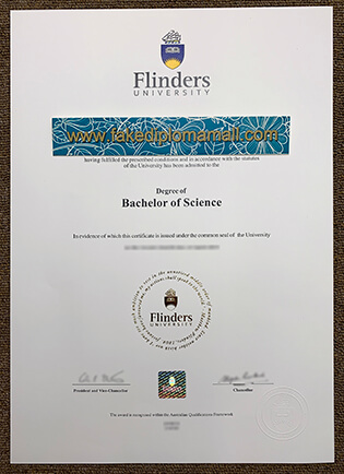 Flinders University Fake Diploma Selling Online