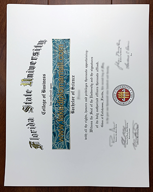 How Long To Get A Fake Florida State University (FSU) Diploma?