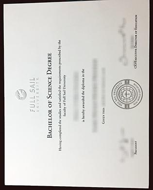Fake Full Sail University Degree in Music Production Program