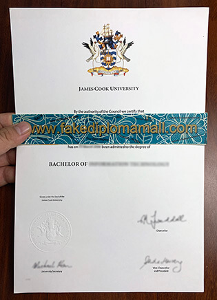 Buy James Cook University Fake Diploma Certificates, JCU degree
