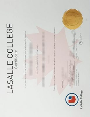 How To Buy Lasalle College Fake Diploma?