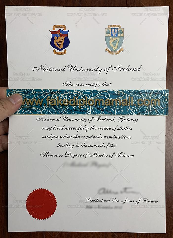 National University of Ireland Fake Diploma