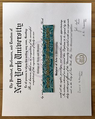 New York University Fake Degree – Buy Fake NYU Diploma