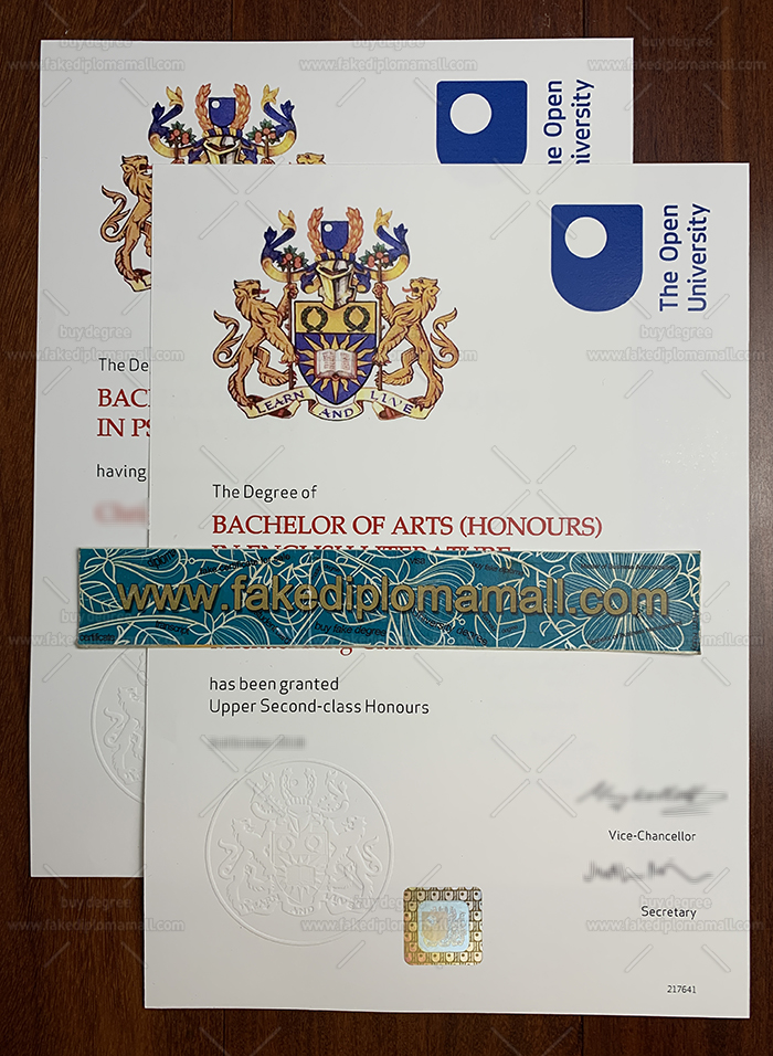Open University Fake Diploma