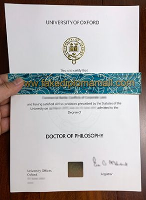 University of Oxford Fake Degree, How To Buy PhD Diploma in England?