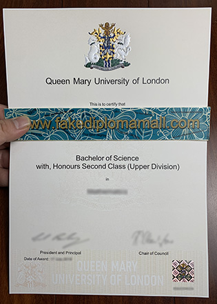 Fake QMUL Diploma, Buy Queen Mary University of London Fake Degree