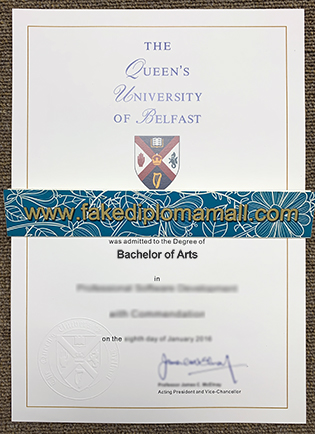 How To Buy Queens University Belfast Fake Degree Certificate Online