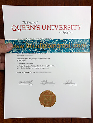 Where Can I Buy Fake Queen's University Degree in Canada?