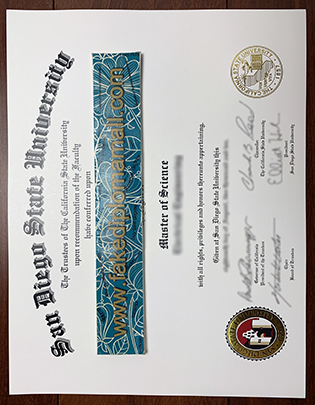 San Diego State University Degree, Where To Buy SDSU Diploma?