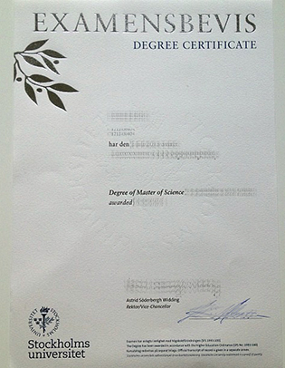 How To Get A Sweden Degree? Buy the Stockholm University Fake Diploma.