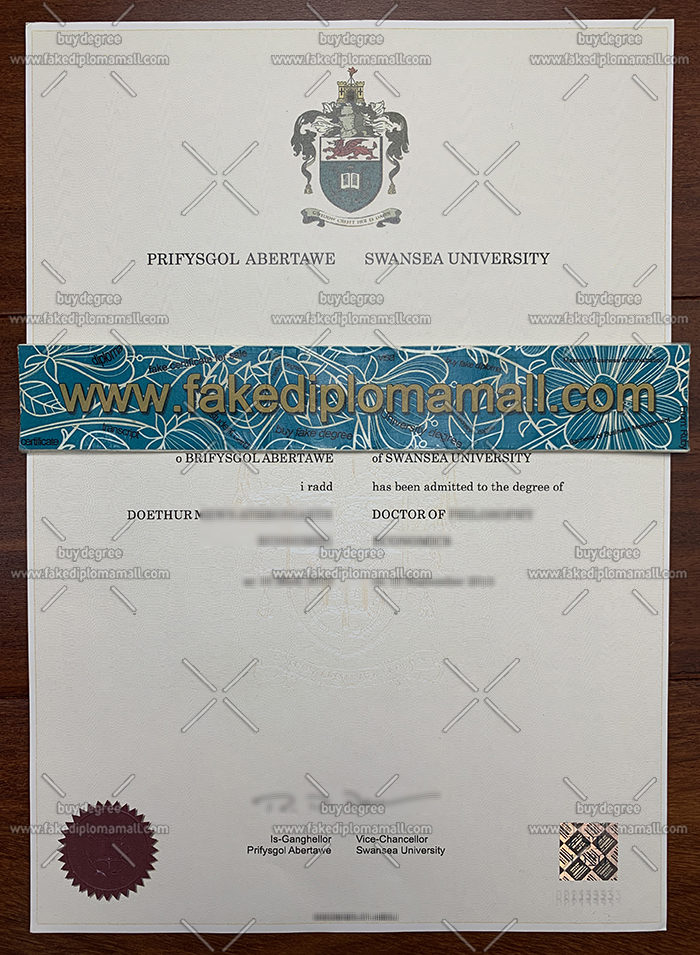 Swansea University fake diploma