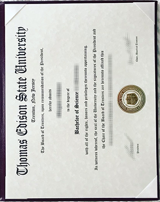 Buy Thomas Edison State University Fake Degree, Fake TESU Diploma Sample