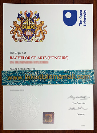 The Open University Fake Degree Issued In The Year of 2019