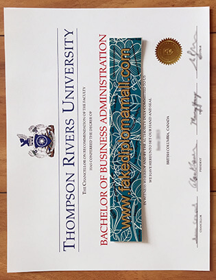 Thompson Rivers University Fake Degree, Buy Fake Diploma From Our Site