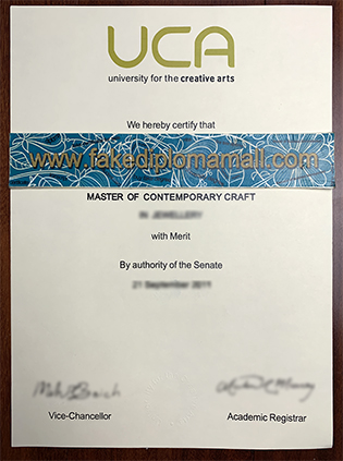Fast To Get A Fake UCA Degree. Fake University for the Creative Arts Diploma in UK