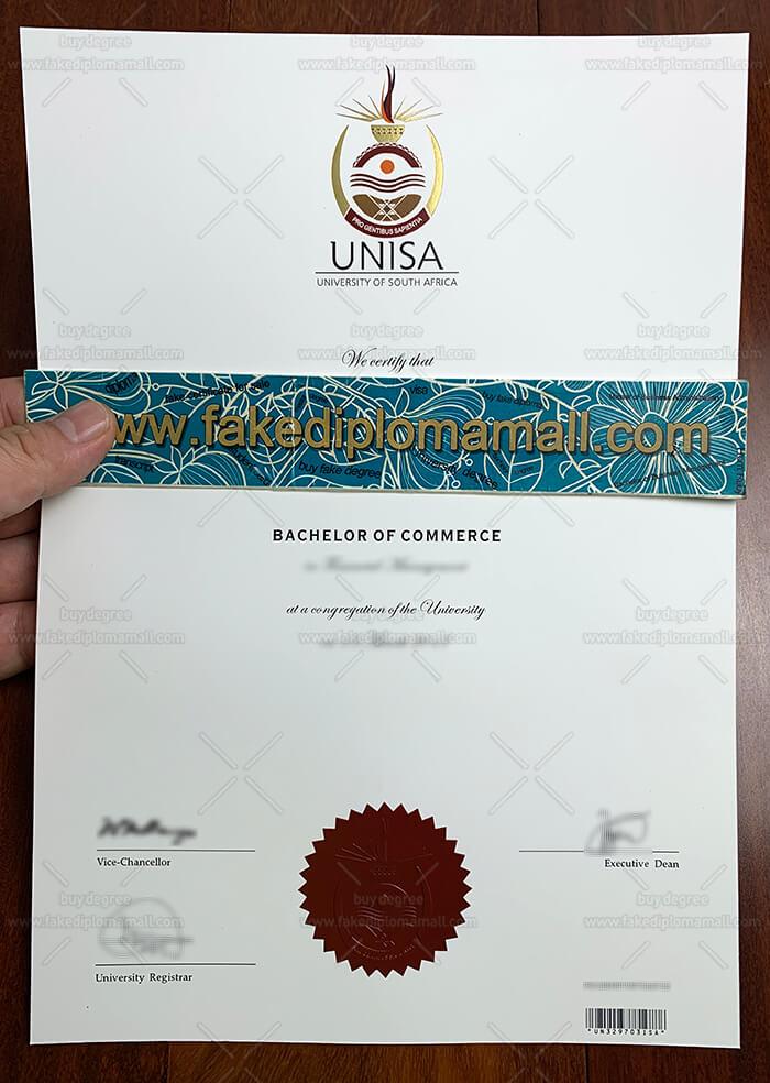 UNISA Fake Diploma