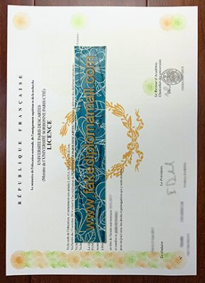 Université Paris 5 Fake Diploma | Buy Université Paris Descartes Diploma