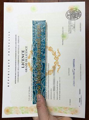 I Want To Buy A Université Sorbonne Nouvelle – Paris 3 Fake Degree