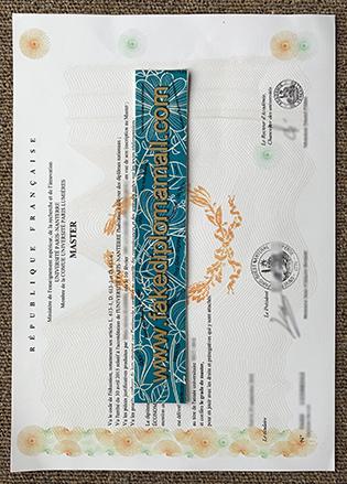 Université de Paris 10 Nanterre La Défense Fake Diploma For Sale