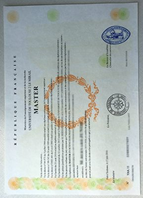 Buy The Université de Toulouse II Fake Diploma In 5 Days