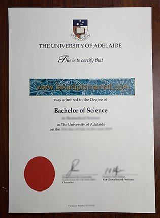 Buy The University of Adelaide Fake Diploma