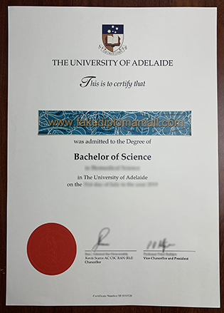 Buy The University of Adelaide Fake Diploma