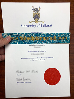 Buy a Fake Bachelor Degree From University of Ballarat in Australia