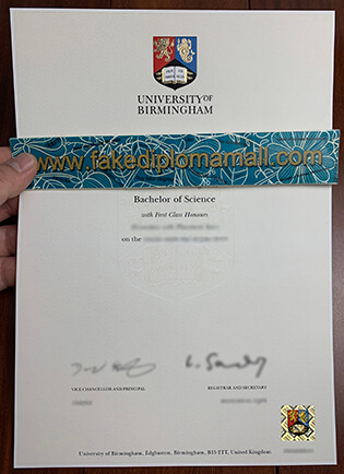 How to Buy a Fake University of Birmingham Degree?