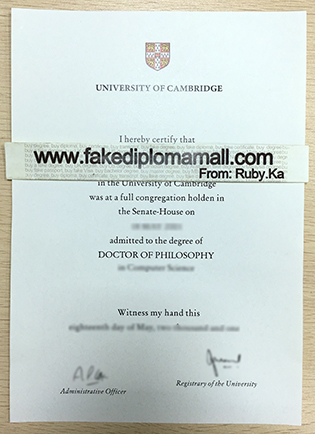 How To Buy University of Cambridge Fake Diploma Certificate Online