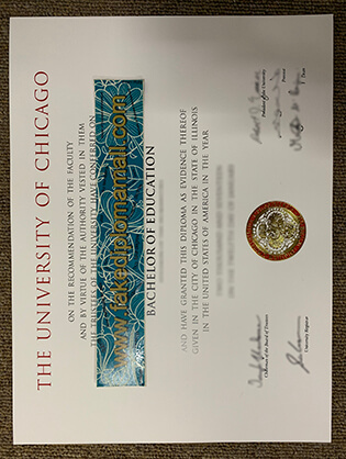 Buy The University of Chicago Fake Diplomas in Illinois