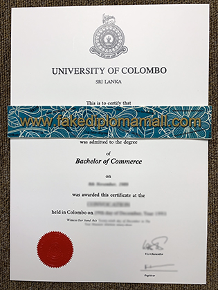 How Much For A Fake University of Colombo Diploma?
