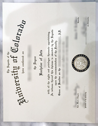 How To Get A Fake University of Colorado Boulder Diploma Online?