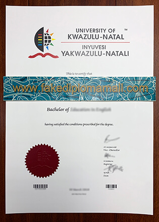 Buy UKZN Fake Diploma, University of KwaZulu-Natal Degree Certificate