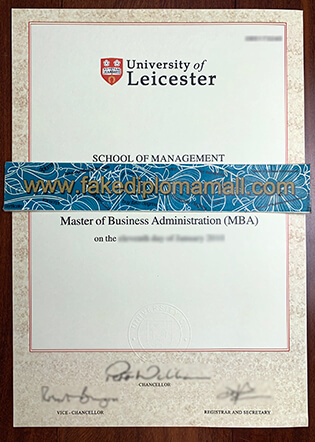 University of Leicester Fake Degree, Where To Buy UK Degree?