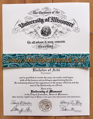 How To Buy A Fake University of Missouri Degree, Mizzou Fake Diploma