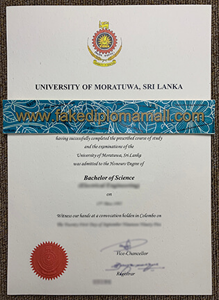 Buy University of Moratuwa Fake Degree From Sri Lanka